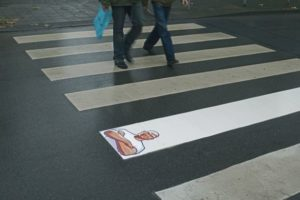 Street marketing Monsieur Propre